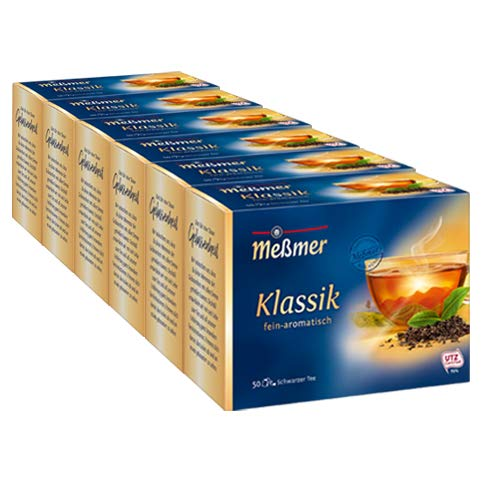 Meßmer Klassik 50 Teebeutel - 6 Packungen