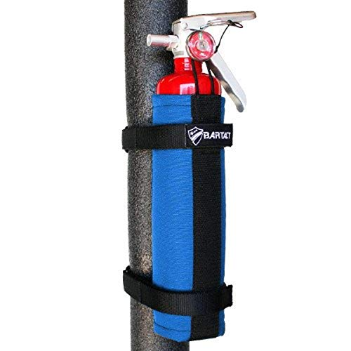 Bartact Roll Bar Fire Extinguisher Mount 2.5 Lb Blue
