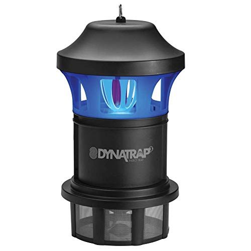 DynaTrap DT1775 1 Acre XL Mosquito and Insect Trap with AtraktaGlo Light - Black