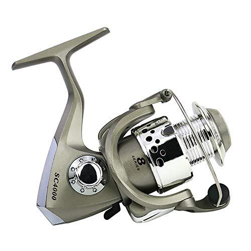 Pesca de giro del carrete, Pesca rueda de trastos, 5.5: 1