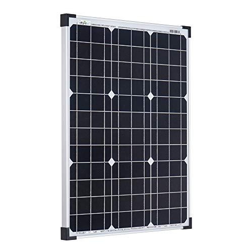 50 Watt Modulo Fotovoltaico - Panello Solare - impianto Solare 50wp - Monocristalline 12V