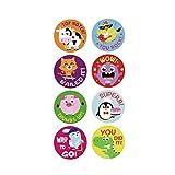 Kinderaufkleber Niedliche Tiere Etikett Spielzeug Geschenke Für Kinder DIY...