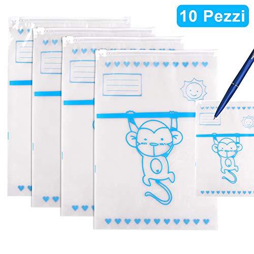 fodera in feltro di cotone grigio 40,6 x 27,9 x 20,3 cm regalo per neonato cestino portaoggetti extra large per fasciatoio Organizer per pannolini