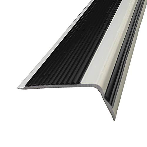 Cierre de Escaleras 1.5M Longitud L Forma PVC Stair Anti resbalón Rose de 50x20mm ángulo de ángulo Edge para escuelas Escaleras de Interior para Las escuelas 10 Paquete Exterior e Interior