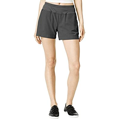 Calvin Klein Performance Women's Active Shorts (Grey, Large)