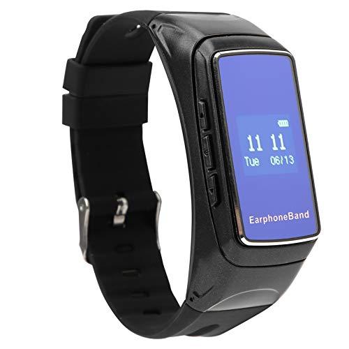 Pulsera con Auriculares Bluetooth Que Mejora la Calidad del sueño Reloj Inteligente con detección del sueño G7 Reloj Deportivo Inteligente para Realizar un Seguimiento de Sus Actividades