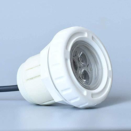 Led 3W Luces para Piscina Luz Nocturna LED Impermeable Acuario Burbuja de Aire Pecera ABS Submarino Sumergible Luz para Estanque de Acuario Piscina al Aire Libre Fiesta Reflector Halloween Iluminaci