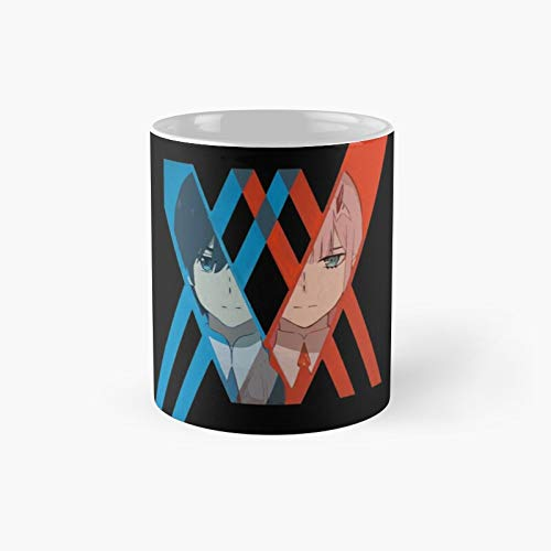 Darling In The F.ranxx Classic Mug - A Novelty Ceramic Cups Inspirational Holiday Gifts For Morther's Day, Men & Women, Him Or Her, Mom, Dad, Sister, Brother, Coworkers, Bestie.
