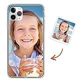 Oihxse Compatible pour Samsung Galaxy J6 2018 Coque Personnalisable Cadeau, Photo Texte...