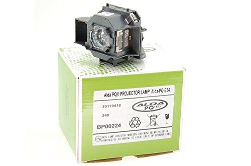 Alda PQ-Premium, Lampada proiettore per EPSON EMP-82 Proiettori, lampada con modulo