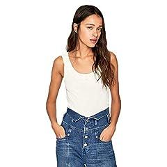 Pepe Jeans Top con Volantes para Mujer - PL504446