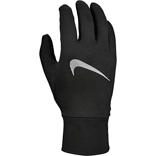 Nike Mens Accelerate Running Gloves Black/Black/Silver S
