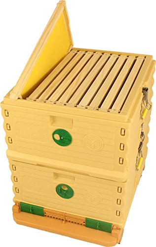 Apimaye Ergo Plus 10 Frame Langstroth Insulated Bee Hive Set with...