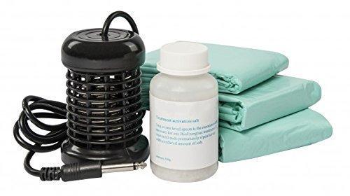Set de consommation pour Ion Cleanser composé d'un serpentin, de 100 g de sel spécial et de 30 goélettes