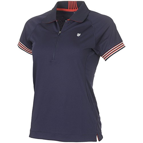 K-Swiss Heritage Polo de Tenis, Mujer, Marino, M