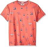 Tommy Hilfiger Summer Check Camisa Rosa Rose Of Sharon//Multi 902 Large para Hombre