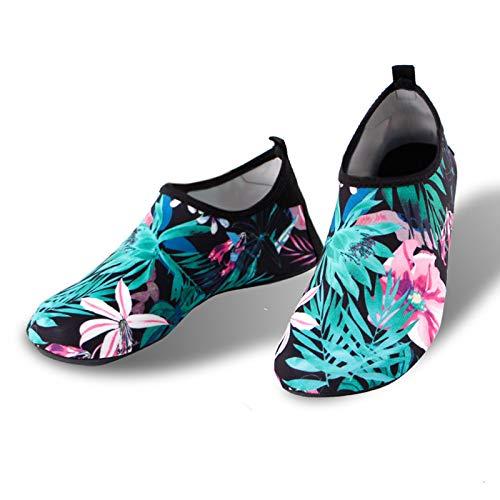 Vast Nuevas zapatillas de deporte de natación deportes acuáticos Aqua Seaside Beach Surf Zapatillas Upstream Light Athletic Calzado para hombres y mujeres (tamaño: marcado 40-41 (adecuado 38-39))
