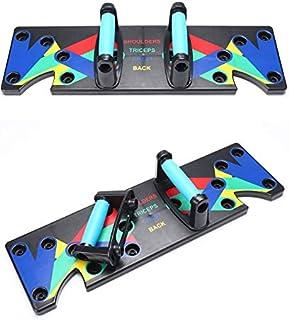 Kmestl Push Up Board 9 in 1 System, Exercise Gym Push Up Rack Board, Portable Bracket Board System, Men Women Workout Trai...