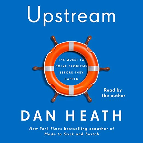 Upstream Audiobook By Dan Heath cover art