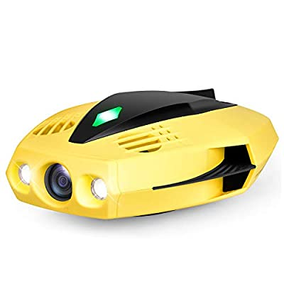 CHASING Dory Underwater Drone - Palm-Sized 1080p Full HD Underwater Drone with Camera for Real Time Viewing, APP Remote Control and Portable with Carrying Case, WiFi Buoy and 49 ft Tether, ROV… from Chasing-Innovation Technology Co., LTD.