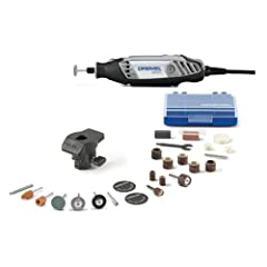 The product is VS Rotary Tool Kit Variable speed form 5,000 to 35,000 rpm Soft grip for comfort and control Works with core attachments Variable speed provides greater control with all accessories, increasing the list of potential materials tool will...
