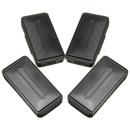 Clip de cinturón de seguridad - WENTS 4 Pack Ajustador del cinturón de seguridad para relajar el cuello del hombro, Elástico ajustable, antideslizante