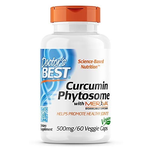 Doctor's Best Curcumin Phytosome With Meriva, 500Mg - 60 Vcaps