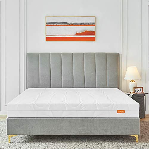 Sweetnight Matratze Orthopädische Kaltschaummatra Höhe 18 cm Härtegrad H3-H4, matratze 180x200, weiß, Oeko-TEX 100