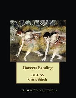 Dancers Bending: Degas cross stitch pattern
