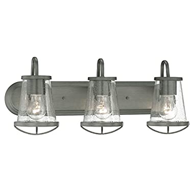 87003-WI Bathroom Lighting, Darby 3 Light Bath Vanity