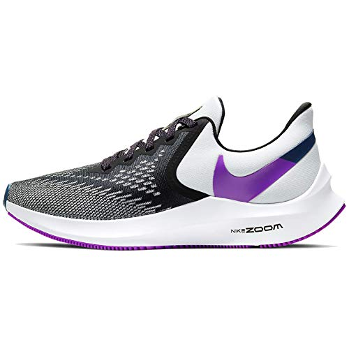Nike Womens Zoom Winflo 6 Womens Running Shoe Aq8228-006 Size 10