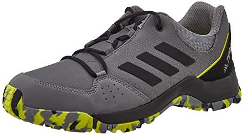 adidas Unisex Terrex Hyperhiker Low K Trekking-& Wanderstiefel, Grau Schwarz Gricua Negbás Gritre, 39 1/3 EU