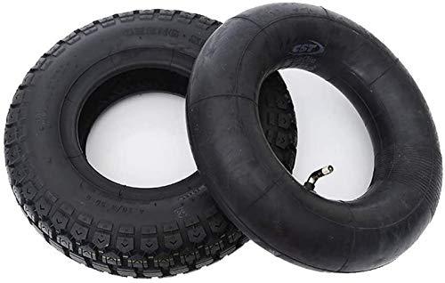 aipipl Neumáticos para patinetes eléctricos, 4.10/3.50-6 Neumáticos neumáticos de Goma, Gruesos y...