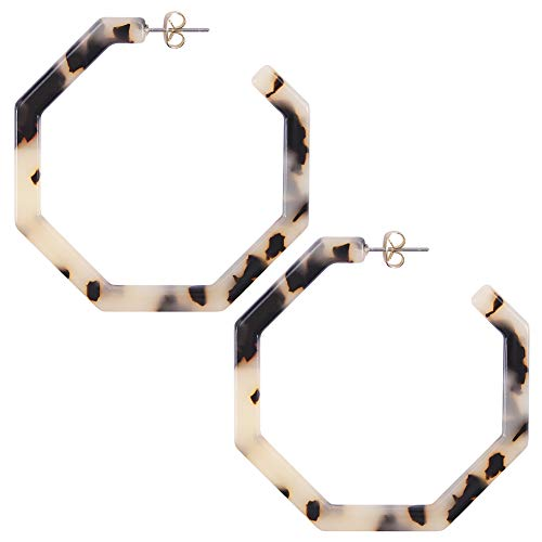 Top acrylic resin hoop earrings for 2020