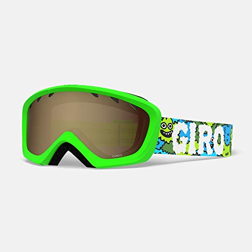 Giro Chico Youth Snow Goggle - Lilnugs Strap with Amber Rose Lens