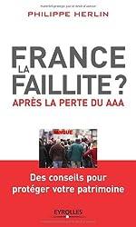 France, la faillite? - Après la perte du AAA de Philippe Herlin