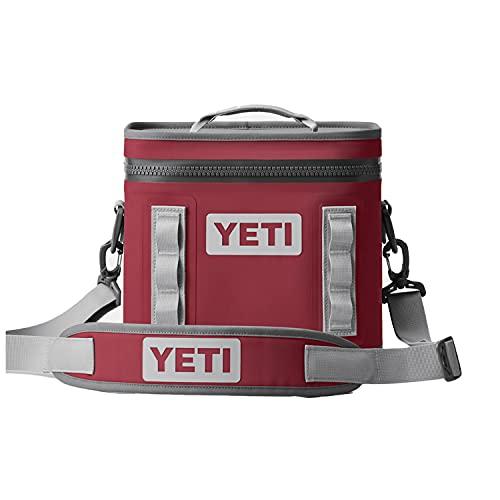 YETI Hopper Flip 8 Portable Cooler, Harvest Red
