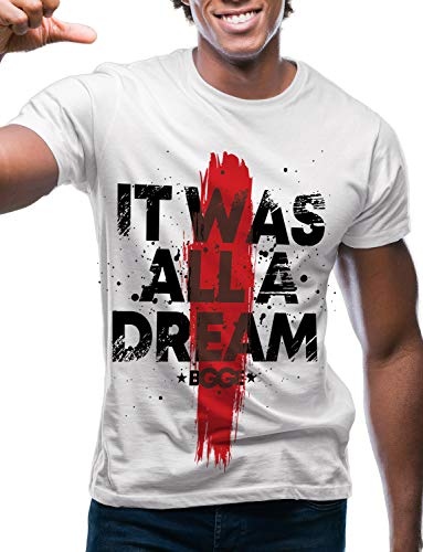 Swag Point Hip Hop T-Shirt - Funny Vintage Street wear Hipster Parody (XXL, All A Dream)