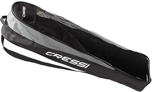 Cressi Gara Basic Bag Bolsa para Aletas Largas, Negro/Gris,
