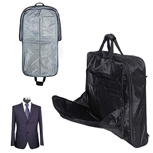 LVJUNQ Multifunction Foldable Business Bag Suit Carry Cover With Reinforced Handles, Made Of Thick Oxford Cloth, Dust-Proof Waterproof Wear-Resistant, Use In Travel
