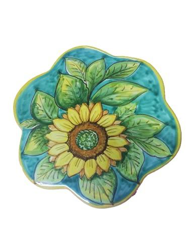 Sottopentola in Ceramica di Vietri Fiore