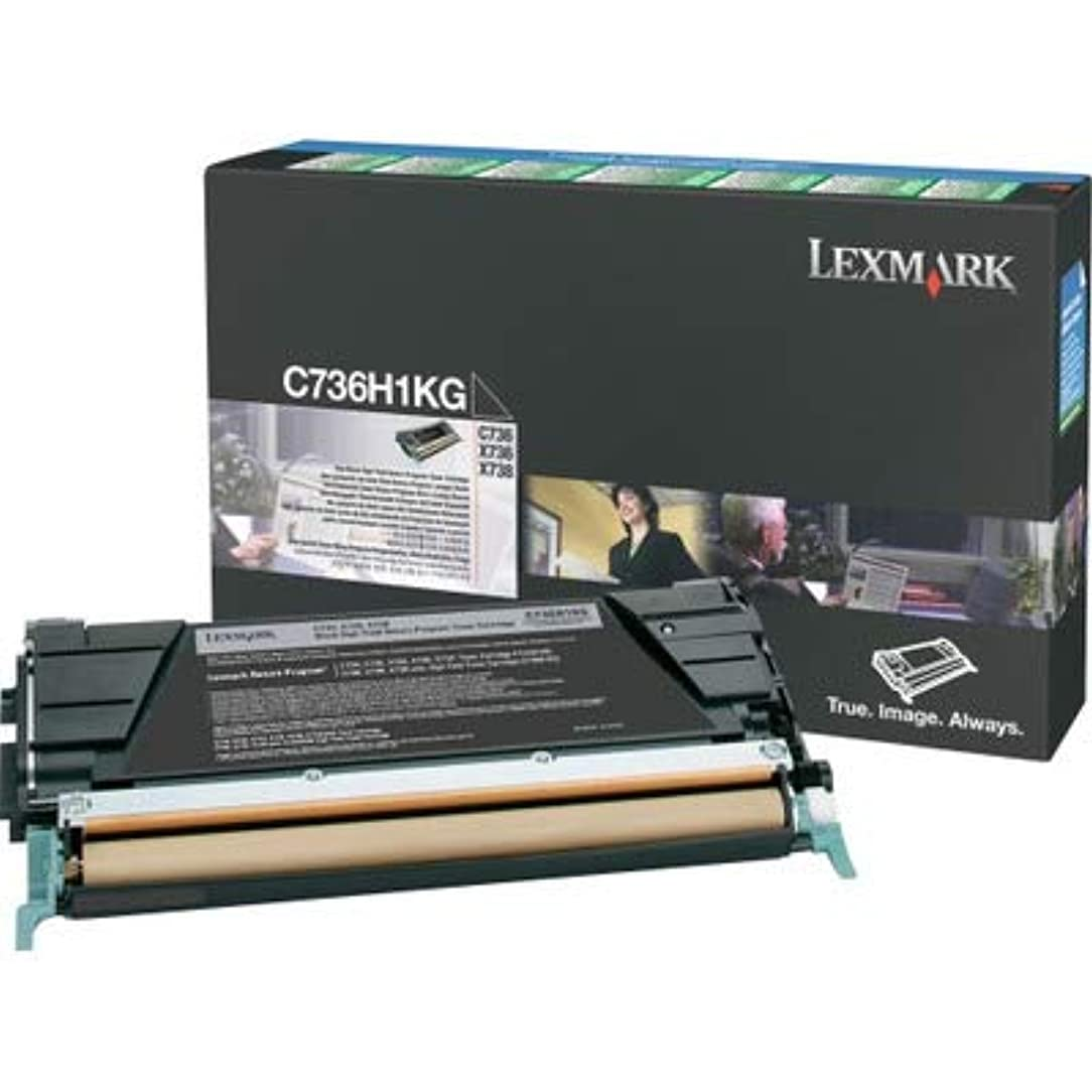 Lexmark C736H1KG Toner Cartridge, Black