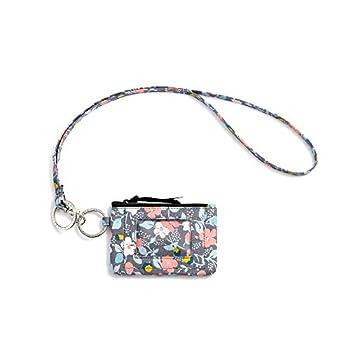 Zip ID Case with Lanyard Fashion Lanyard Wallet ID Case Wallet with Lanyard