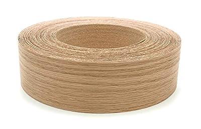 """Red Oak Wood Veneer Edgebanding Preglued 7/8"""" X 250' Roll"""