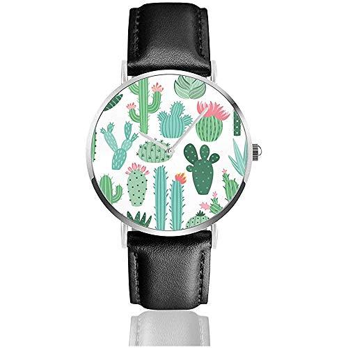 Las Mujeres mexicanas de Cactus y Aloe Miran Relojes de Pulsera