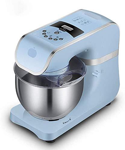 Elektromixer Küche Standmixer, Edelstahl Rührschüssel, 6-Gang-und Zeitanzeige 1000W, 4,2 L Kuchen Mixer mit Knethaken, Schneebesen, Beater BPA-frei