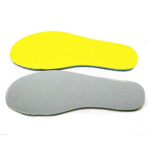 YUTRD ZCJUX 1 par de Plantillas de Zapatos con Memoria para Hombres y Mujeres, Desodorante Absorbente para el Cuidado de los pies, cojín Suave para Almohadillas para Zapatos (Size : 25cm to 27cm)
