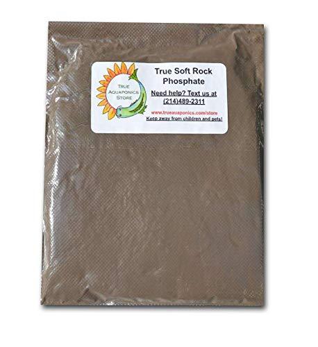 TrueNute Soft Rock Phosphate Powder 16 Ounces for Aquaponics, Hydroponics and Soil for Plants, Stronger Than Liquid