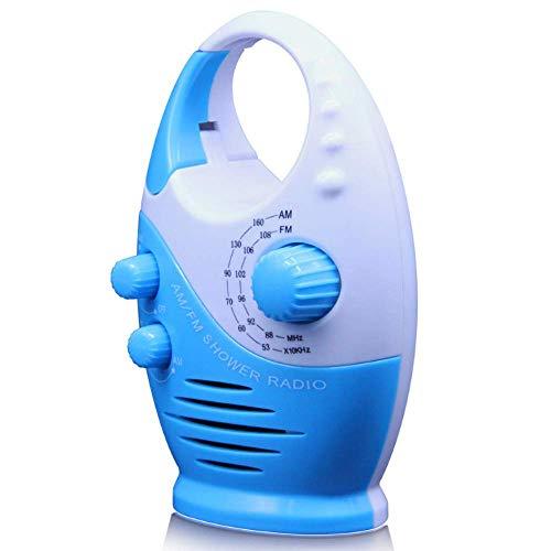 N\\ A Wasserdichtes Duschradio Hängendes Musikradio Eingebauter Lautsprecher Knopf Lautsprecher Bad Duschlautsprecher Drahtloses Tragbares Radio Mit Oberem Griff B