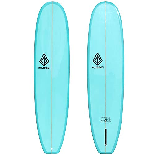 Paragon Surfboards Performance Mini Log   Fun & Easy to Ride Surfboard for All Surfing Skill Levels   7'8